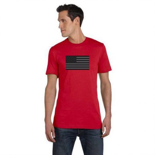 Blackout Tee Red