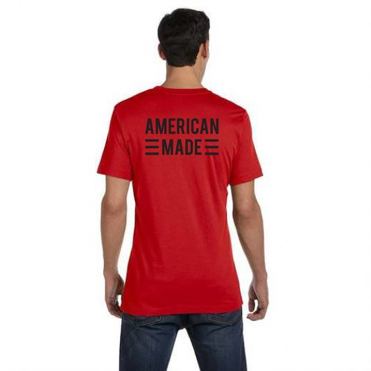 Blackout Tee Red Back