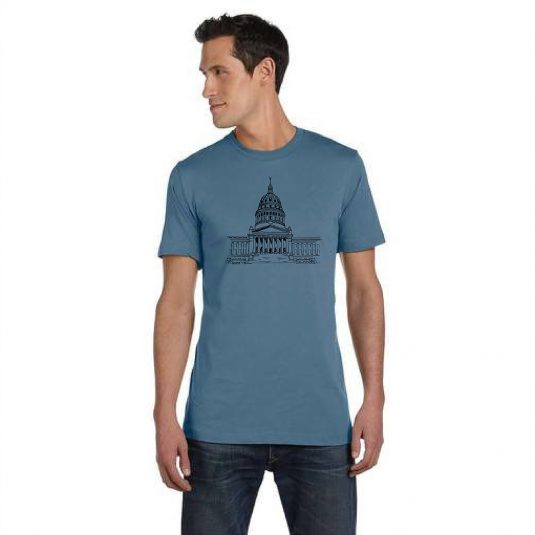 Capitol Blue Tee