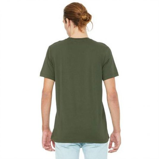 Size Tee Military Back